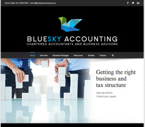 Bluesky Accounting Website