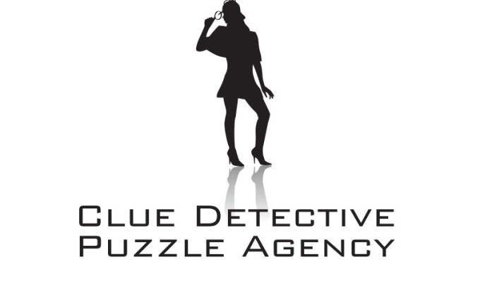 Clue Detective Puzzle Agency Logo