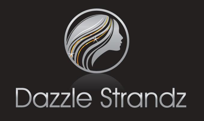 Dazzle Strandz Logo Design