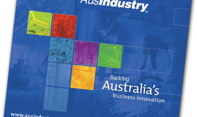 AusIndustry Graphic Design