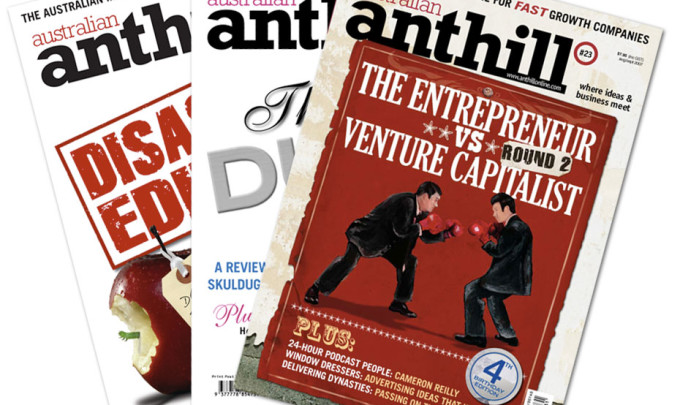 Anthill Australia Magazine Design