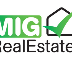 MIG Real Estate Logo Design