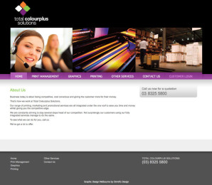 Total Colourplus Website