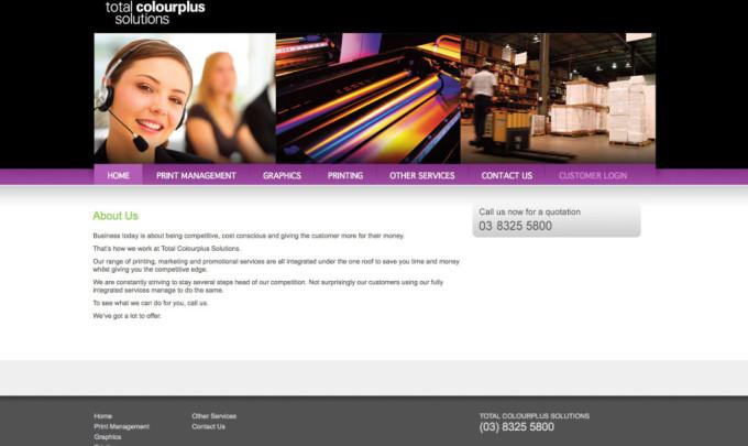 Total Colourplus Website