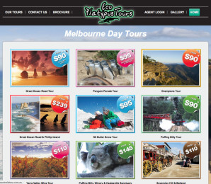 Eco Platypus Tours Website