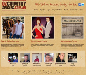Oz Country Singles Website