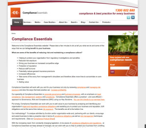 Compliance Essentials Website