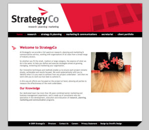StrategyCo Website