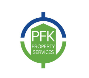 PFK Property Services Logo Design