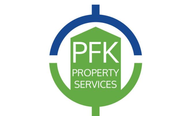 PFK Property Services Logo Design
