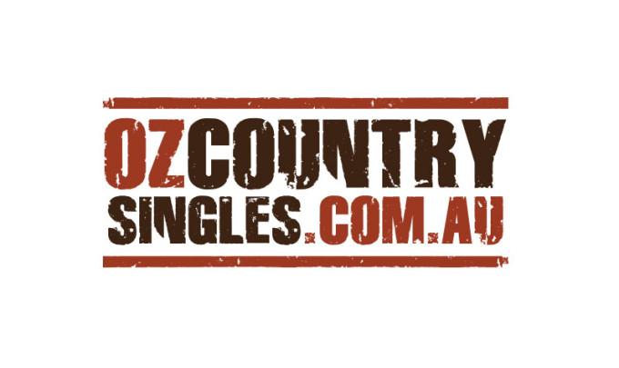 ozcountrysingles.com.au Logo Design